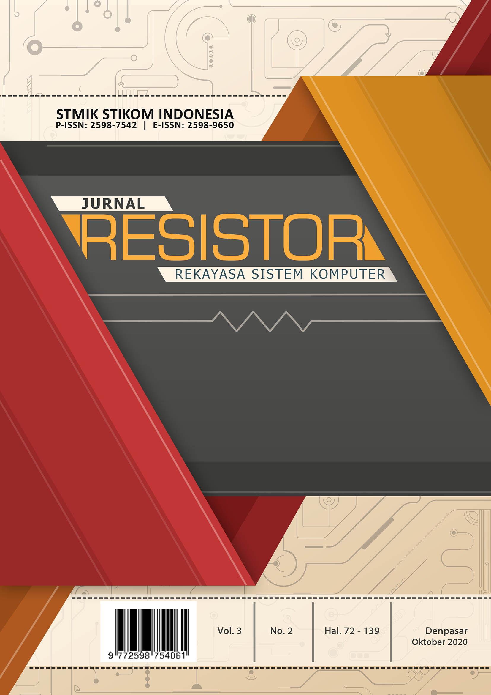 View Vol. 3 No. 2 (2020): Jurnal RESISTOR Edisi Oktober 2020